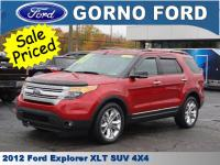 2012 FORD EXPLORER XLT 4 WHEEL DRIVE. VOICE ACTIVATED
