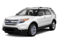 Ford Explorer White AWD. Recent Arrival! Reviews:  *