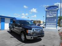 This 2012 FORD F-150 XLT has a Clean CARFAX - NO