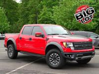 F-150 SVT Raptor, 4WD, Leather Seats, Navigation w/Sony