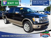 2012 F-150 King Ranch 4X4 518A, 4D Crew Cab, 5.0L V8