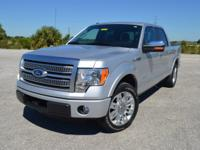 This low mileage, one owner Ford F150 Platinum