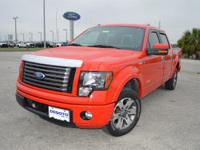 This low mileage, one owner Ford F150 FX2 SuperCrew 4x2