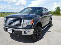 This low mileage, one owner Ford F150 XLT SuperCrew 4x4