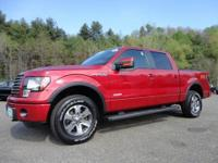 Exterior Color: red candy metallic, Body: Crew Cab