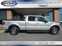 F-150 SuperCrew FX4 4x4. Clean Car Fax. 5.0L V8 Power