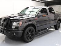 2012 Ford F-150 with FX Luxury Package,FX Appearance