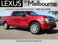 Platinum trim. CARFAX 1-Owner, GREAT MILES 67,651! EPA