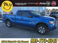 Options:  2012 Ford F-150 Fx4|Blue Flame Metallic|New