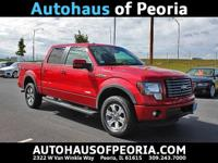 New Price! 2012 Ford F-150 FX4 Vermillion Red CARFAX