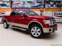 2012 Ford F-150 Lariat 4X4  Beautiful Red Candy