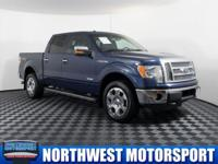 Clean Carfax Two Owner 4x4 Truck with Sunroof!