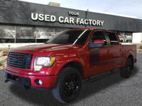 Options:  2012 Ford F-150 Fx4|4X4 Fx4 4Dr Supercrew
