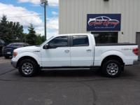 Our sweet 2012 F-150 Lariat SuperCrew 4x4 is displayed