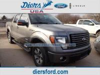 CARFAX One-Owner. Sterling Gray Metallic 2012 Ford