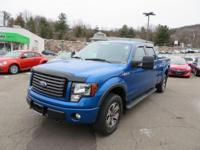 They say go big or go home! 2012 Ford F-150 FX4