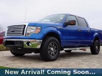 2012 Ford F-150 XLT in Blue Flame Metallic, 4WD, This