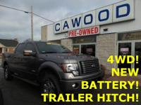 Options:  2012 Ford F-150 Fx4|Sterling Gray