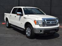 This 2012 Ford F-150 4dr - features a ECOBOOST 3.5L V6