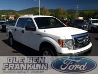 Options:  2012 Ford F-150|White/|V8 5.0L