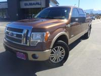 Options:  2012 Ford F-150 King Ranch|Brown|Gvwr: 7|350