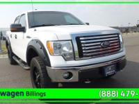 White 2012 Ford F-150 XLT 4WD 6-Speed Automatic