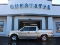 From work to weekends, this Gold 2012 Ford F-150 Lariat