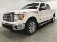 Options:  2012 Ford F-150 Lariat|White|Priced Below Kbb