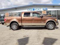 2012 Ford F-150 SuperCrew Cab Lariat 4 Wheel Drive 3.5L
