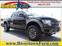 2012 Ford F-150 Pickup Truck 4WD SuperCrew 145 SVT