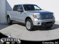 This 2012 Ford F-150 Crew Cab Platinum 4wd offers