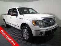2012 Ford F-150 Platinum 4X4 SuperCrew with a 3.5L