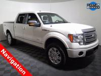 2012 Ford F-150 Platinum Super Crew with a 3.5L V6