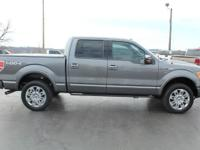 2012 Ford F-150 Platinum Sterling Gray Metallic 20""