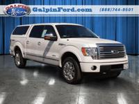 2012 Ford F-150 Platinum Supercrew 4X4 Platinum Our