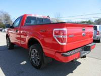 Options:  2012 Ford F-150 Stx|Race Red/Steel Gray|V6