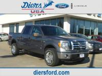 2012 Ford F-150 Supercrew 4X4 XLT Our Location is: