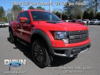 2012 Ford F-150 SVT Raptor  Clean AutoCheck! Vehicle