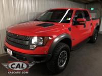 Options:  2012 Ford F-150 4Wd Supercrew 145 Svt
