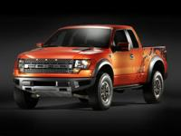 2012 RAPTOR Ford F-150 with a Clean CARFAX. SVT Raptor