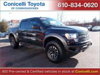 CarFax 1-Owner, This 2012 Ford F-150 SVT Raptor will