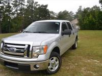 This 2012 Ford F-150 2WD SuperCrew 5-1-2 Ft Box XL