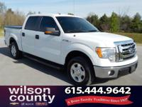 2012 Ford F-150 XLT 3.7L V6 FFV Oxford White Clean