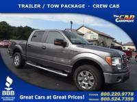 Used 2012 Ford F-150,  DESIRABLE FEATURES:  a TRAILER /