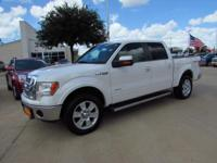 Options:  2012 Ford F-150 4Wd Supercrew 5-1/2