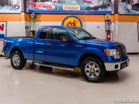 2012 Ford F-150 XLT  Blue 2012 Ford F150 XLT with 3.7L