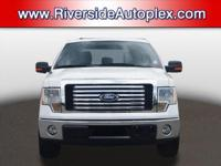 2012 Ford F-150 XLT in Oxford White, This F-150 come