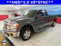 SYNC, F-150 XLT, 5.0L V8 FFV, 6-Speed Automatic