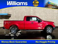 Options:  2012 Ford F-150 Xlt|Red|Local Trade|Xm