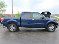 2012 Ford F-150 XLT Dark Blue Pearl Metallic ABS